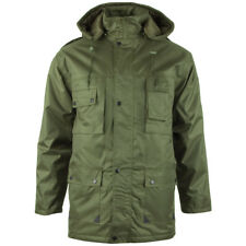 Mil-Tec Parka Dubon Mens Winter Quilted Military Jacket Warm Hooded Coat Olive