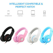 Nubwo Headphones Headsets with Mic 3.5mm Jack volume control for PC iPhone Sony