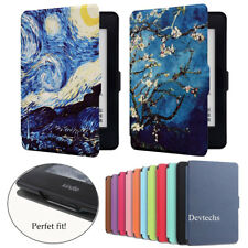 Slim Magnetic Leather Stand Case Cover for Amazon Kindle 6/ Kindle Paperwhite123