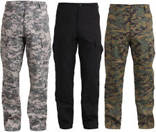 Army Combat Uniform Tactical Military Rip-Stop BDU Pants