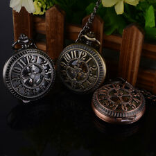 Hollow-out Cross Mechanical Fashion Vintage Antique Pocket Watch Quartz Analog