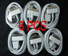 6PCS USB Sync Data Charging Charger Cable Cord for Apple iPhone 4 4S 4G 4th IPOD