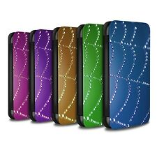 STUFF4 PU Leather Case/Cover/Wallet for Apple iPhone 6S+/Plus/Spider Web Pearls
