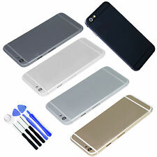 Multi-Color Metal Battery Housing Door Back Cover For Iphone 6 Plus Reair parts