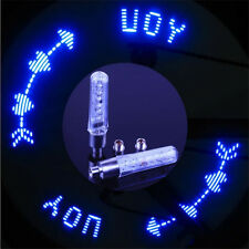 2pc Flash LED Bicycle Motorcycle Bike Tire Tyre Spoke Wheel Valve Light Lamp New