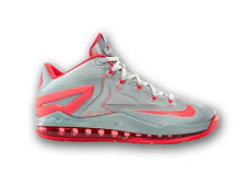 NEW NIKE LEBRON MAX XI,11 LOW SILVER GRAY BASKETBALL SNEAKERS,SHOES-7Y,-644534