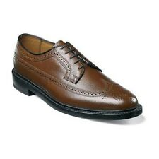 Florsheim Imperial Cognac Mens shoes Wing Tip Calf SKIN Leather 17109-03 3E Wide