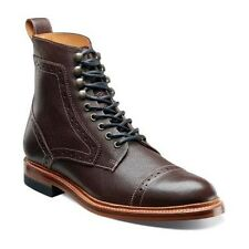 Mens shoes Stacy Adams Madison  Ankle boot Ox Blood Leather Brown Cap Toe 00062