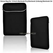 Soft Laptop Sleeve Bag Case Cover 13.3inch Macbook Pro A1278 Air Pro Retina new