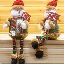 Santa Claus Snowman Deer Christmas Gift Ornaments Xmas Toy Home Decor Fashion