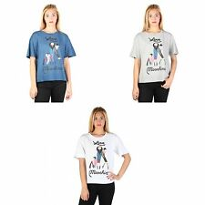 Love Moschino Womens/Ladies Short Sleeve Cotton T-Shirt With Baggy Style Sleeves