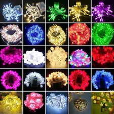 Battery Powerd 10/20/30/40/80 LED Christmas String Fairy Lights Party Decor Lamp