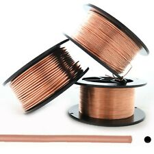 Pure Copper Wire, 1 lb, 8 10 12 14 16 18 20 21 22 24 26 28 30 Gauge Soft, Round