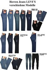 Levis Men's Jeans Pants 501,510,511,514,527 fast shipping keine Additional