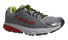 NEW Womens Montrail FluidBalance Trail Running Shoes Grey Icy/Juicy Retail $100