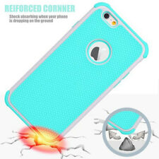 1pc Shockproof Hybrid Rugged Rubber Hard Case Cover Skin for iPhone 6s&6 Plus 5s