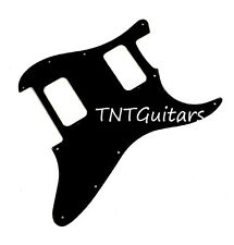 Strat HH FLOYD ROSE Pickguard SoCal Charvel Style Custom SO CAL FR BLACK (Solid)