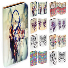 For Samsung Galaxy Note Series Dream Catcher Print Flip Case Wallet Phone Cover