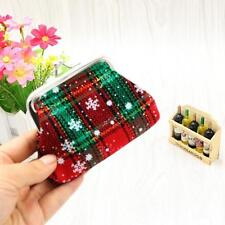 Womens Girls Christmas Small Wallet Holder Coin Purse Clutch Handbag Bag HOT