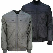 Mens Designer Soulstar Jacket Baseball Bomber Padded Showerproof  Coat