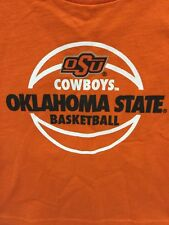 Oklahoma State Cowboys NCAA Chidren's Basketball Practice T-Shirt - NWOT