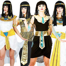 Cleopatra Egyptian Ladies Fancy Dress Halloween Egypt Womens Adult Costume 6-24