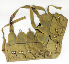 SURPLUS CHINESE ARMY 56TYPE AMMO POUCH SKS CHEST RIG CANVAS POUCH STRAP-0314