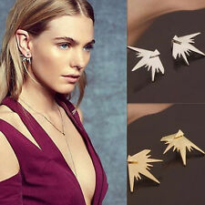 New Chic Geometric Earrings Exaggeration Triangle Ear Stud Drop Jewelry Fashion