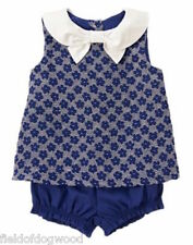 NWT Gymboree Coastal Breeze Sailor Floral Swing top bloomer set 0 3 6 12 18-24mo