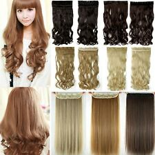 Real Thick,17-30 Inch,3/4 Full Head Clip In Hair Extensions,Brown ,AS Remy H85