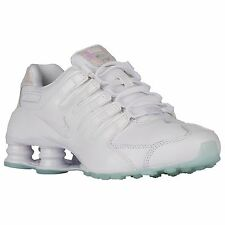 NIKE SHOX NZ 2016 WHITE BLUE TINT WOMENS RUNNING SHOES **FREE POST AUSTRALIA