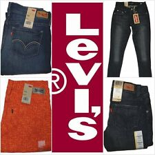 New Levi's Women's 524 Skinny Fit Jeans Many Sizes Many Colors Free Shipping NWT