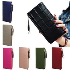 Fashion Women Leather Clutch Wallet Long Card Holder Case Coin Purse Handbag