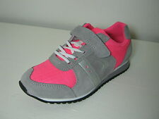 SALE Girls Clarks Super Step Inf Pink Combi Suede Leather Trainers