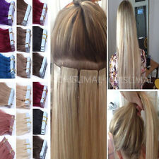 """16""""18""""20""""22""""-26"""" 8A Tape In Remy Human Hair Extensions Seamless Skin Weave hair"""
