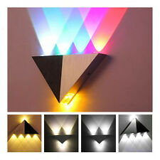 Triangle Multi- LED Wall Sconce Hall Walkway Ceiling Decking Light Fixture Lamp