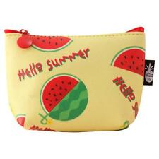 Women Girl Fruit Coin Purse Wallet Bag Change Pouch Key Holder Case Fashion Cute