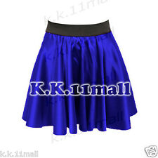 Satin Short Mini Skirt For Women, Sexy Short Skirt girl plated Micro Skirt 34 Co