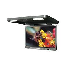 "Tview 17"" Black Flip Down Overhead Car Video Monitor W/ Remote t176ir"