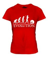 ACRO EVOLUTION OF MAN LADIES T-SHIRT TEE TOP GIFT DANCE CLOTHING