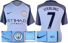 *16 / 17 - NIKE ; MAN CITY HOME SHIRT SS / STERLING 7 = SIZE*