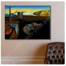 POSTER or STICKER +GIFT Decals Vinyl The Persistence Of Memory Melting Clock