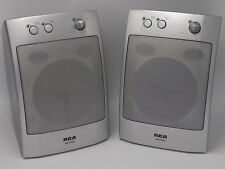 RCA WSP155 WSP 155 Wireless 900 Mhz Speakers Pair. Tested Missing Transmitter