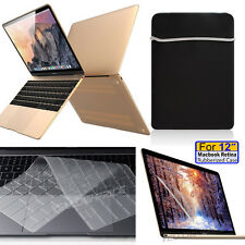 "Soft-Skin Slevee Bag,Protective Case,Keyboard,LCD Apple 12"" Macbook Retina A1534"