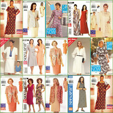 OOP Butterick See & Sew Sewing Pattern Misses Dress Plus Size You Pick