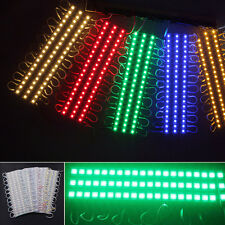 20Pcs 3 LED 5050 SMD Module Waterproof Light Lamp Strip DC 12V Signs Decoration