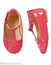NWT GYMBOREE Pretty Poppy T Strap Flats Dress shoes 04 5 8 9 10 11 12 13 1 2