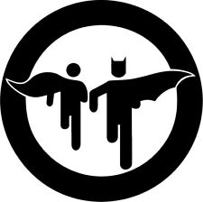 Batman and Robin - Vinyl Car Window and Laptop Decal Sticker