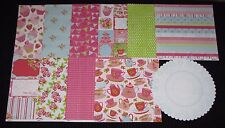 "Kaisercraft 'TEA PARTY' 12x12"" Paper Cupcakes/Tea/Cake/Bake (You choose) KAISER"