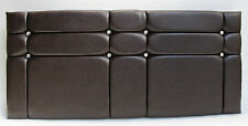 """SINGLE,SMALL DOUBLE, DOUBLE, KING SIZE FAUX LEATHER HEADBOARD 24"""""""